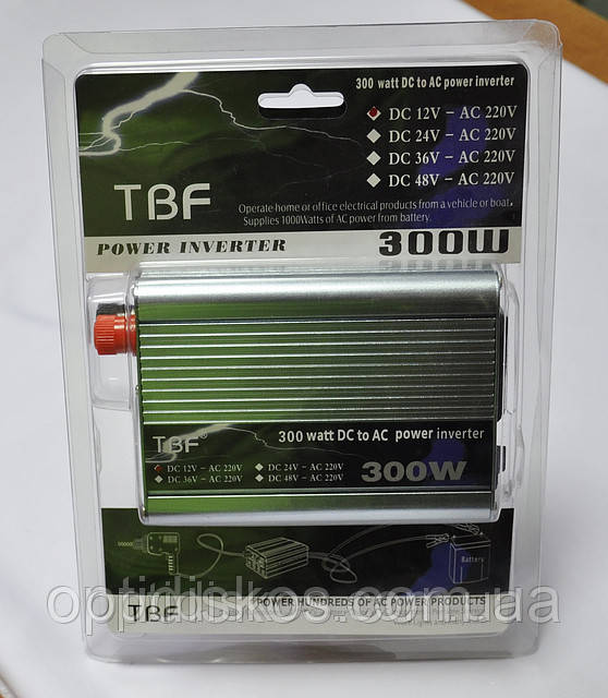 Преобразователь напряжения инвертор 12-220V TBF 300W