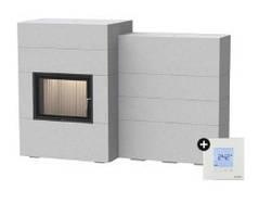 Каминная система Brunner BSG с дополнительной аккумуляцией сбоку + EAS