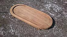 Доска овальная с бортиком, 35 * 15 см