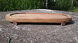 Доска овальная с бортиком, 35 * 15 см, фото 2