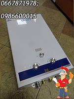 Газовая дымоходная колонка Dion JSD-10, недорогая качественная водогрейная колонка купить
