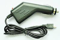 Зарядка от прикуривателя для навигаторов и других mini-USB устройств