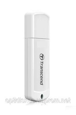 USB Флешка Transcend Jetflash 370, 16GB, белая