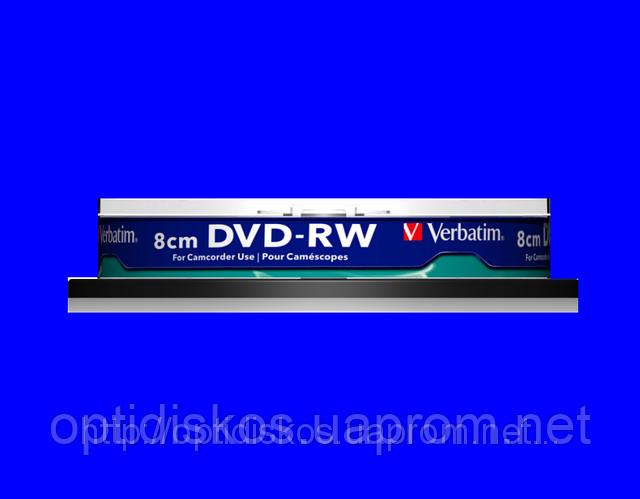 Mini DVD-RW Verbatim, 1,4Gb, 4x,print, cake-10