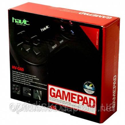 Игровой Манипулятор GAMEPAD  HAVIT HV-G60, фото 2