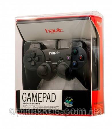 Игровой джойстик, манипулятор HAVIT HV-G69, черный, фото 2