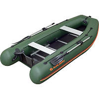 Моторно-гребная надувная килевая лодка Колибри КМ-450DSL Профи