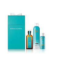 """MoroccanOil Подарочный набор """"Очищение и укладка"""" для светлых волос"""