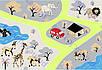 """Ковер для детской комнаты """"Дорога в Африке"""". Купить ковер дорога, фото 4"""