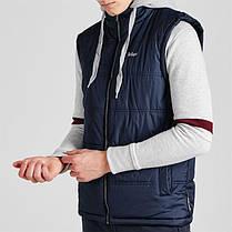 Жилетка Lee Cooper Sweater Hooded Gilet Mens, фото 3