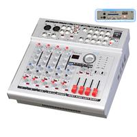 Микшер 2mono+2stereo PMX4D 2*250W MP3-USB