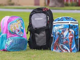 Детские рюкзаки и сумки