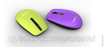 Беспроводная USB мышь HAVIT HV-MS261GT c 3 цветными корпусами, фото 2