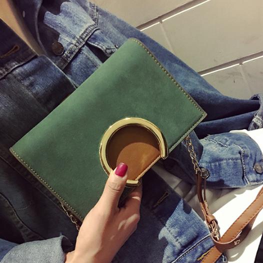 Стильная маленькая женская сумка. Модель 2063