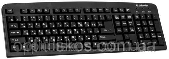Клавиатура DEFENDER Element HB-520 USB G, черная