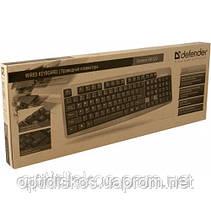 Клавиатура DEFENDER Element HB-520 USB G, черная, фото 2