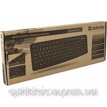 Клавиатура DEFENDER Element HB-520 USB G, черная, фото 3