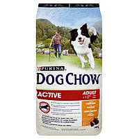 Dog Chow Active Chicken&Rice 14 кг Сухой корм для активных собак
