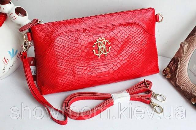 Клатч - сумка в стиле Roberto Cavalli (розовый цвет)