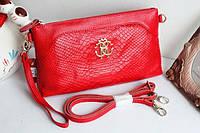 Клатч - сумка Roberto Cavalli (розовый цвет)