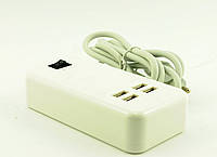 Сетевое зарядное устройство 220V на 4 USB 2.0
