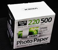 Фотобумага Videx HGA6-220/500 глянец