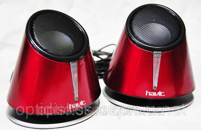 Колонки Havit HV-SK427 USB, black+red
