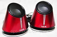 Колонки Havit HV-SK427 USB, black+red, фото 1