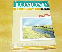 Фотобумага LOMOND двухсторонняя, матовая, 100g, A4*100