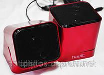 Колонки Havit speaker   HV-SK113 USB, красные, фото 2