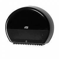 Диспенсер Tork для туалетной бумаги в мини рулонах черный