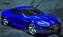 "Портативная колонка Машинка WS-788  ""Aston Martin"", синяя, фото 3"