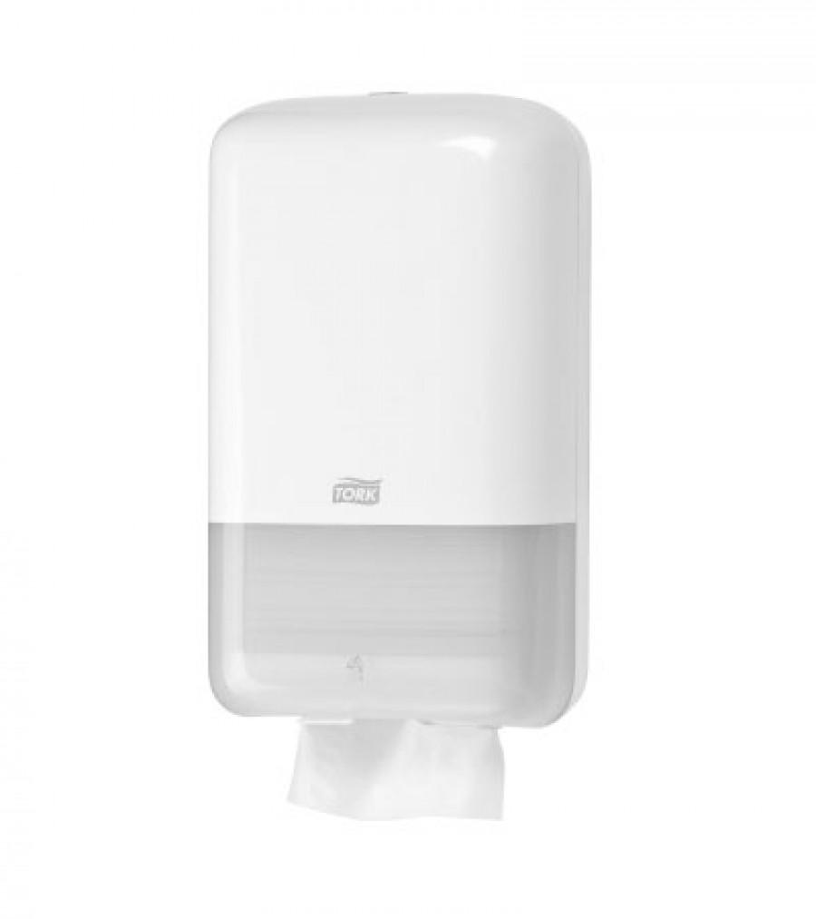 Диспенсер для листовой туалетной бумаги Tork Белый