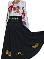 """Жіноче вишите плаття """"Нейвон"""" (Женское вышитое платье """"Нейвон"""") KR-0001"""
