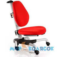 Кресло MEALUX Y-517 WKR (белый металл / обивка красная однотонная)