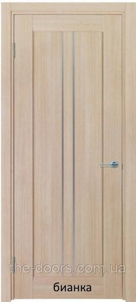 Двери межкомнатные ТВИНС со стеклом экошпон