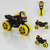 Детский мотоцикл для катания Технок Мини Байк 4098 синий