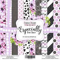 Набор бумаги от Фабрики Декора - Especially for her, 20x20 см, 10 листов