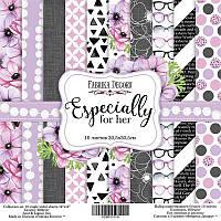 Набор бумаги от Фабрики Декора - Especially for her, 30,5x30,5 см, 10 листов
