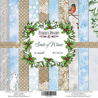 Набор бумаги от Фабрики Декора - Smile of winter 1, 20x20 см, 1 шт