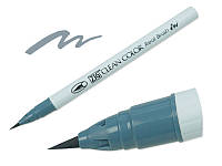 Акварельный маркер ZIG, CLEAN COLOR Real Brush — Blue Gray, Япония, 1 шт