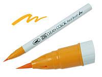 Акварельный маркер ZIG, CLEAN COLOR Real Brush — Bright Yellow, Япония, 1 шт