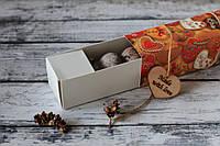 Шоколадное печенье в приятной на ощупь коробке с сердечками (HP5)