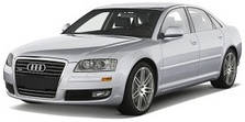Защита двигателя на Audi A-8 (2002-2010)