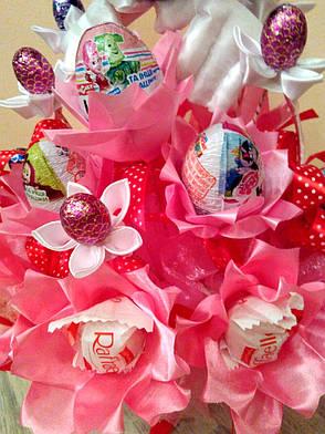 83ecd301e72e Букет из конфет детский на день рождения ручной работы Минни Маус, фото 2