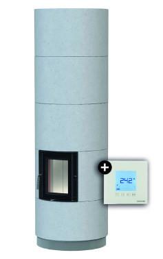 Каминная система Brunner KSO 25 r with thermal concrete cladding + EAS
