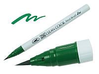 Акварельный маркер ZIG, CLEAN COLOR Real Brush — Green, Япония, 1 шт