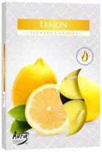 Ароматические свечи таблетки BISPOL Лимон
