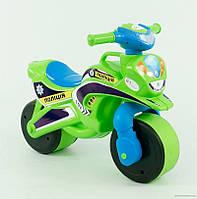 """Детский мотоцикл для катания Байк """"Полиция"""" Фламинго музыка"""