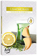 Ароматические свечи таблетки BISPOL Лимонная трава